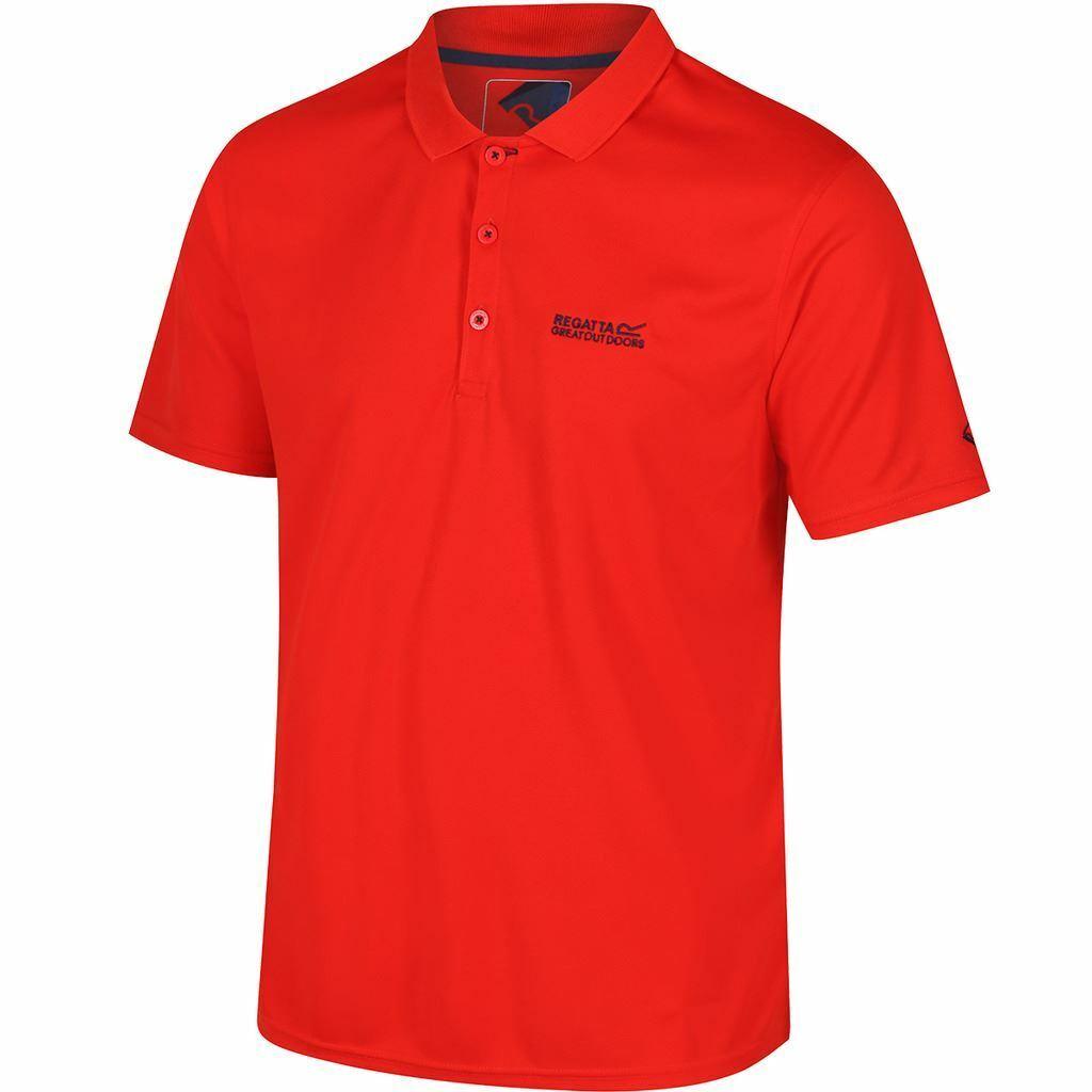 Red Regatta Maverick IV Short Sleeve Mens Polo Shirt
