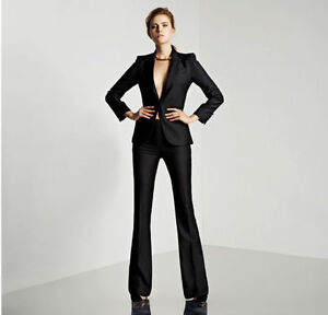 Image Is Loading Womens Suits Blazer With Pants Women Business