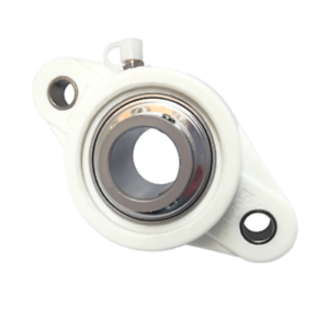 SS-UCF207 Thermoplastic 4 Bolt Square Flange Bearing Unit