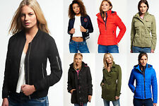Women's Superdry Jackets Selection in Various Styles