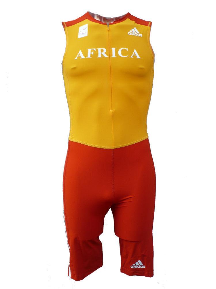 ADIDAS SPRINT SUIT M AFRICA AFRICA AFRICA EINTEILER SPRINTANZUG RUNNING SPORTANZUG L-XL  | Zahlreiche In Vielfalt  | Stilvoll und lustig  4496a8