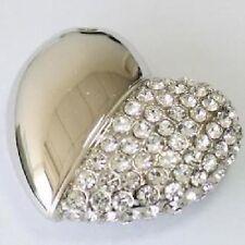 USB Stick 4 GB Strass Herz Anhänger Schmuck Coeur Clé USB Corazón Heart Kette