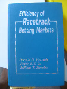 Stock-Image-Efficiency-of-Racetrack-Betting-Markets-Hausch-Donald-1994-1st