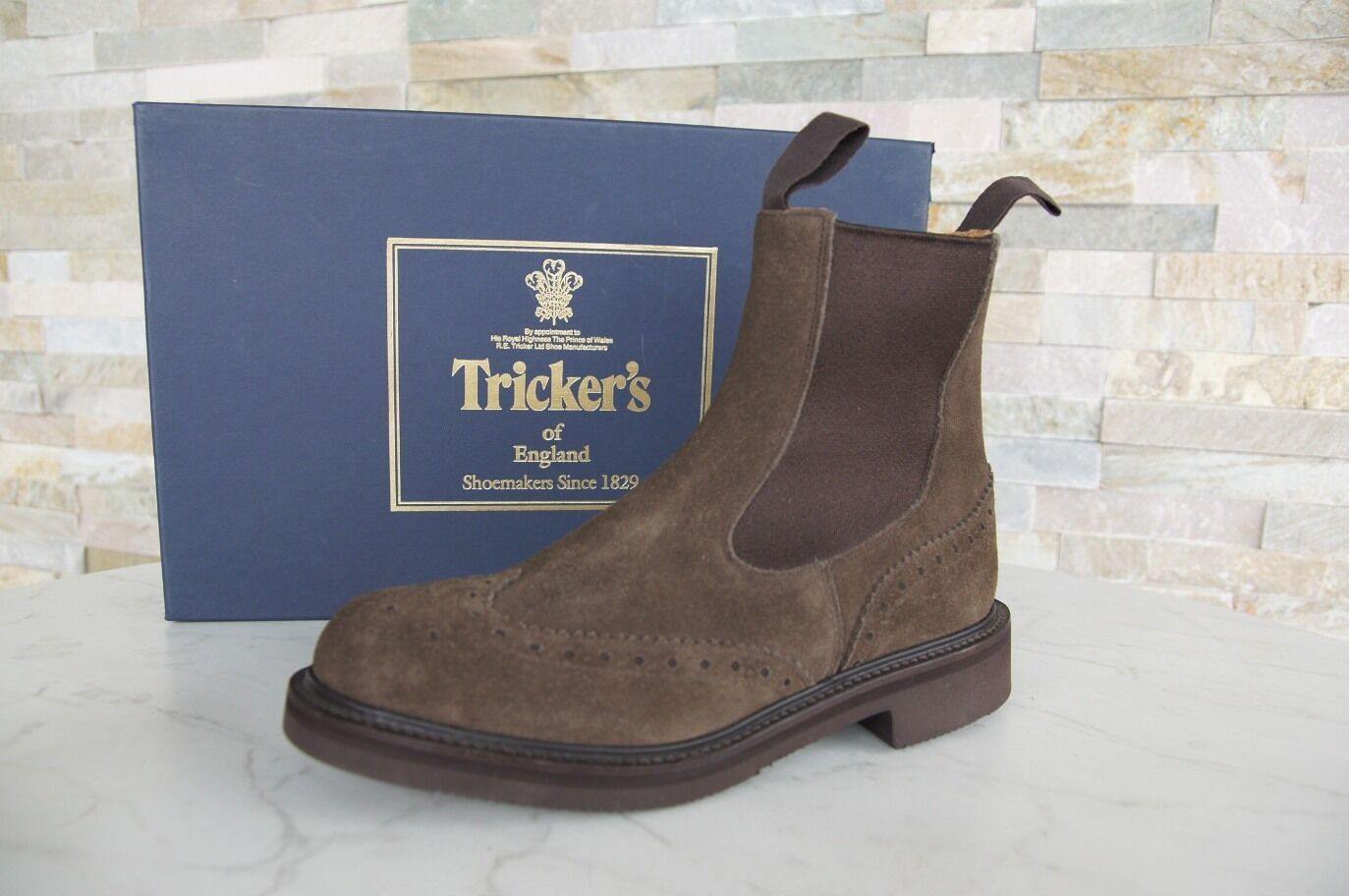 Tricker's Boots Sz. 3,5 36,5 Chelsea Boots shoes Flint New Previously