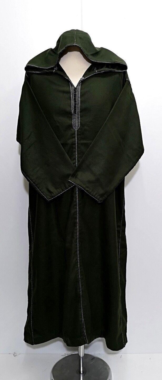 MGoldccan exclusive wool hooded thobe jalabiya.jubba.thobes.Fit Größe Größe Größe 54 &56 | Sonderaktionen zum Jahresende  83f6de