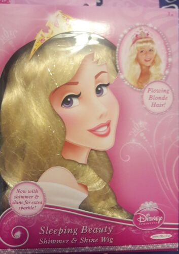 Costume Hair Disney Princess SLEEPING BEAUTY Shimmer /& Shine WIG