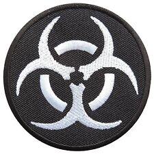 New Biohazard Resident Symbol Evil Danger Radiation Warning Iron on Patches 1627