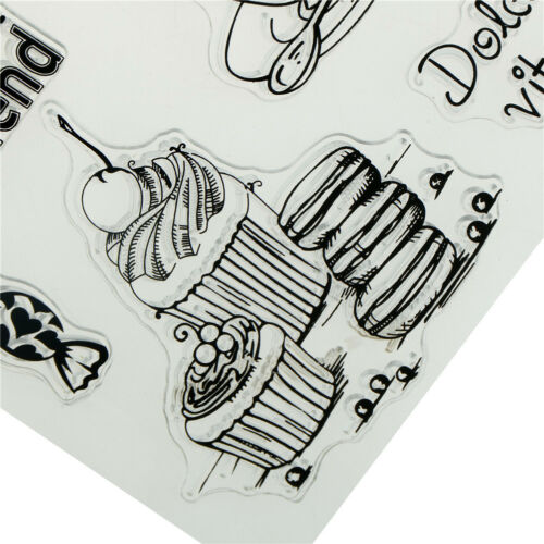 Neuheit Vogel Tee Schmetterling Brief Design Clear Stamps Scrapbooking ZP