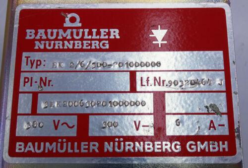used Baumüller EK 2//6//300-201000000 3EK200630201000000 Feldregler