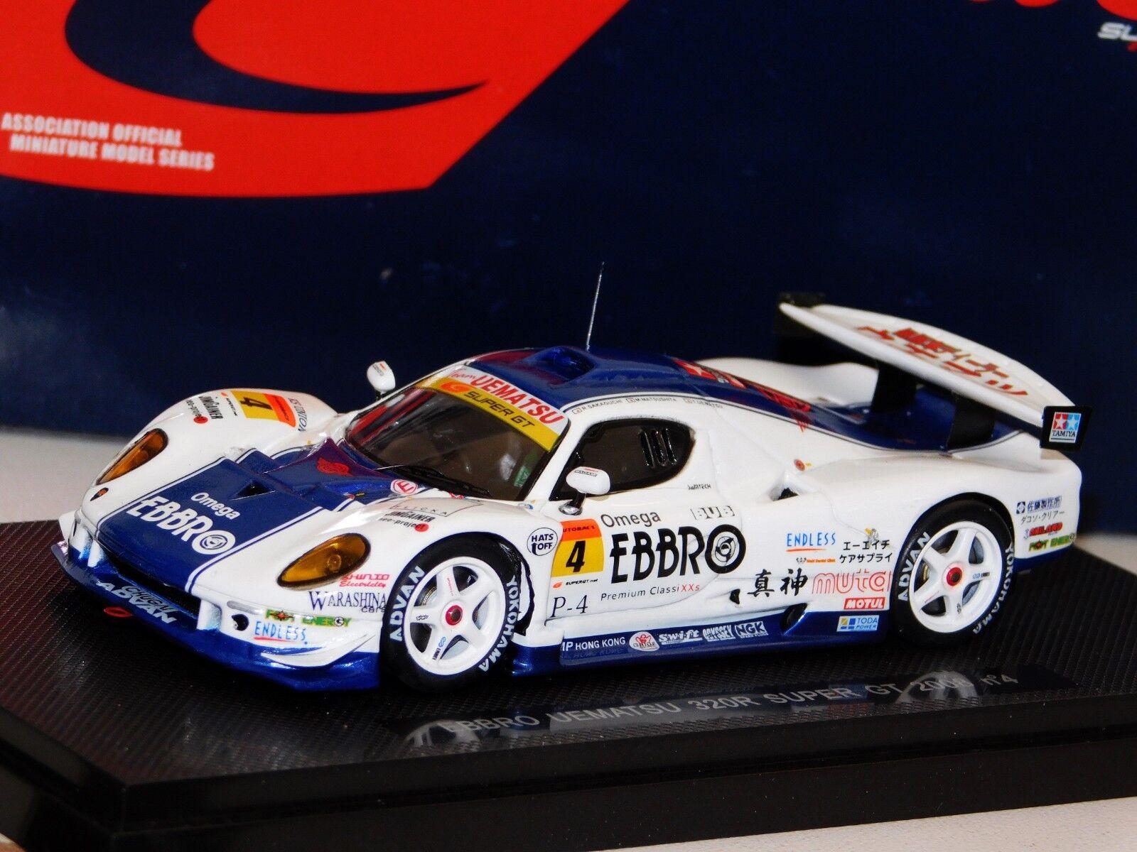 VEMAC Uematsu 320R Super GT 2008 Ebbro 44061 1 43