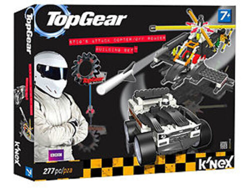 NEW Top Gear K'nex Stig's Attack Copter Off Roader Building Set 277 pieces