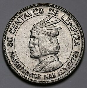 Diplomatic 1973 Honduras 50 Centavos Fao Coin Km# 82 Unc Central America North & Central America