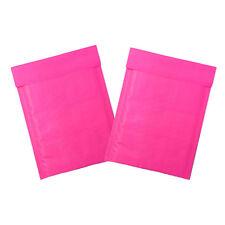 Hot Pink Aqua And Polka Dot Kraft Bubble Mailers Padded Envelopes 4x8 Amp 6x9