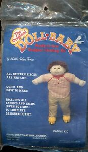 The Original Doll Baby Designer Clothing Kit Casual Kid by Martha Nelson Thomas
