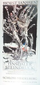 Horst-Janssen-Tinsdaler-Steindruck-handsigniert-Kunstdruck-G-5362