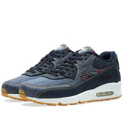 Utilisé Hommes Nike Air Max 90 Premium afro punk Levi Denim Taille 8 UK | eBay