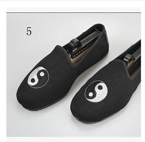 New Wudang Taoist Kung Fu Shoes Taichi Wu shu Shaolin Wing chun Monk Sneakers