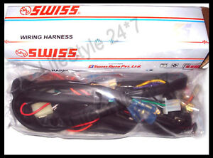 brand new royal enfield 500cc 12v complete wiring harness for image is loading brand new royal enfield 500cc 12v complete wiring