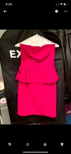 Hot Pink Express Mini Dress