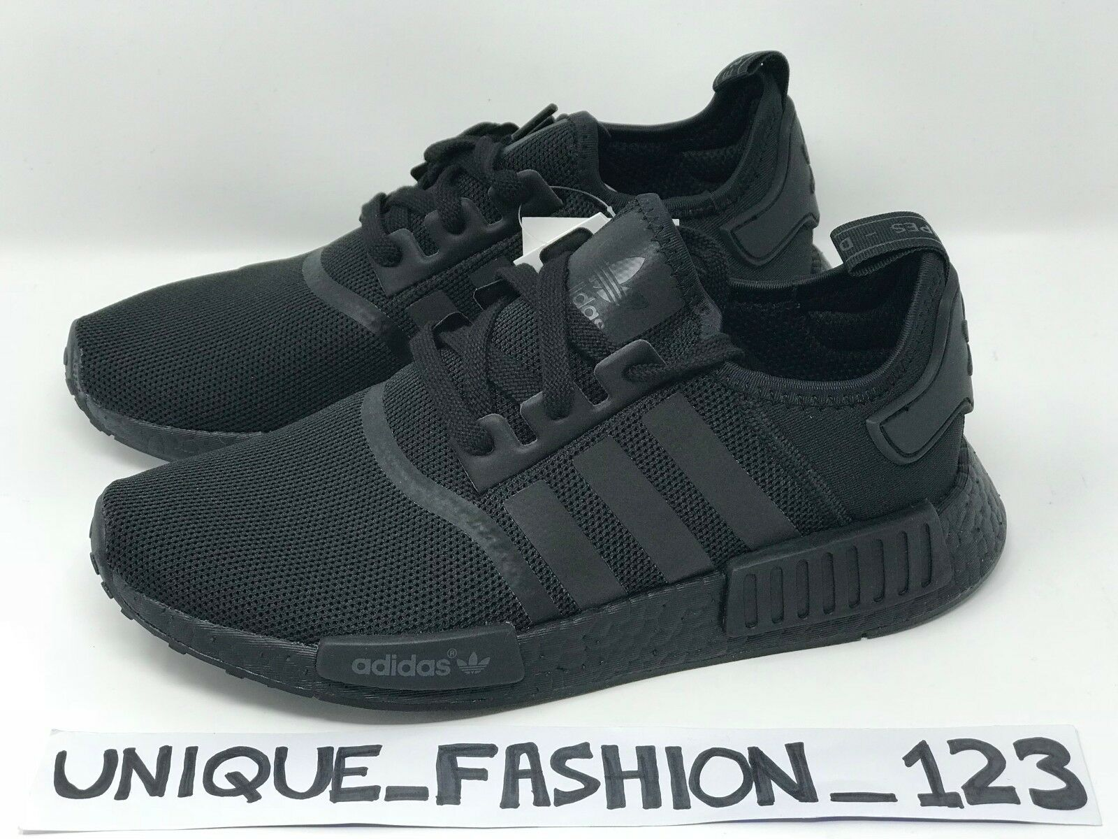 ADIDAS NMD TRIPLE Noir MESH R1 OUT6 7 8 9 10 11 S31508 2018 CORE OG PITCH