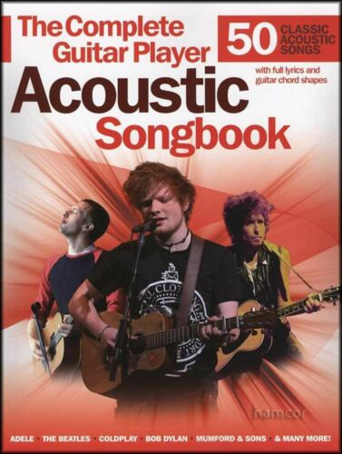 The Complete Guitar Player Acoustic Songbook 50 Classic Songs Chords /& Melody