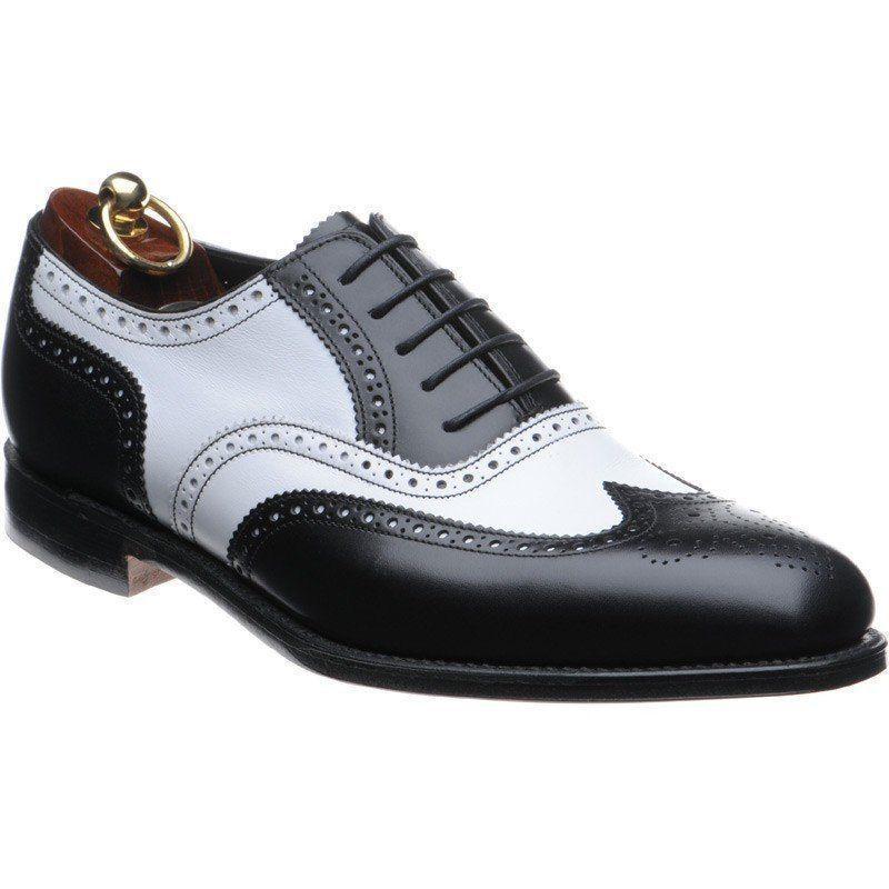 Zapatos de vestir hombres Zapatos Formales, punta de ala negro dos Tonos De Hombre Zapatos, para hombre espectador