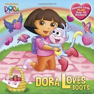 Details about Dora Loves Boots (Dora the Explorer) (Pictureback(R)) by  Alison Inches