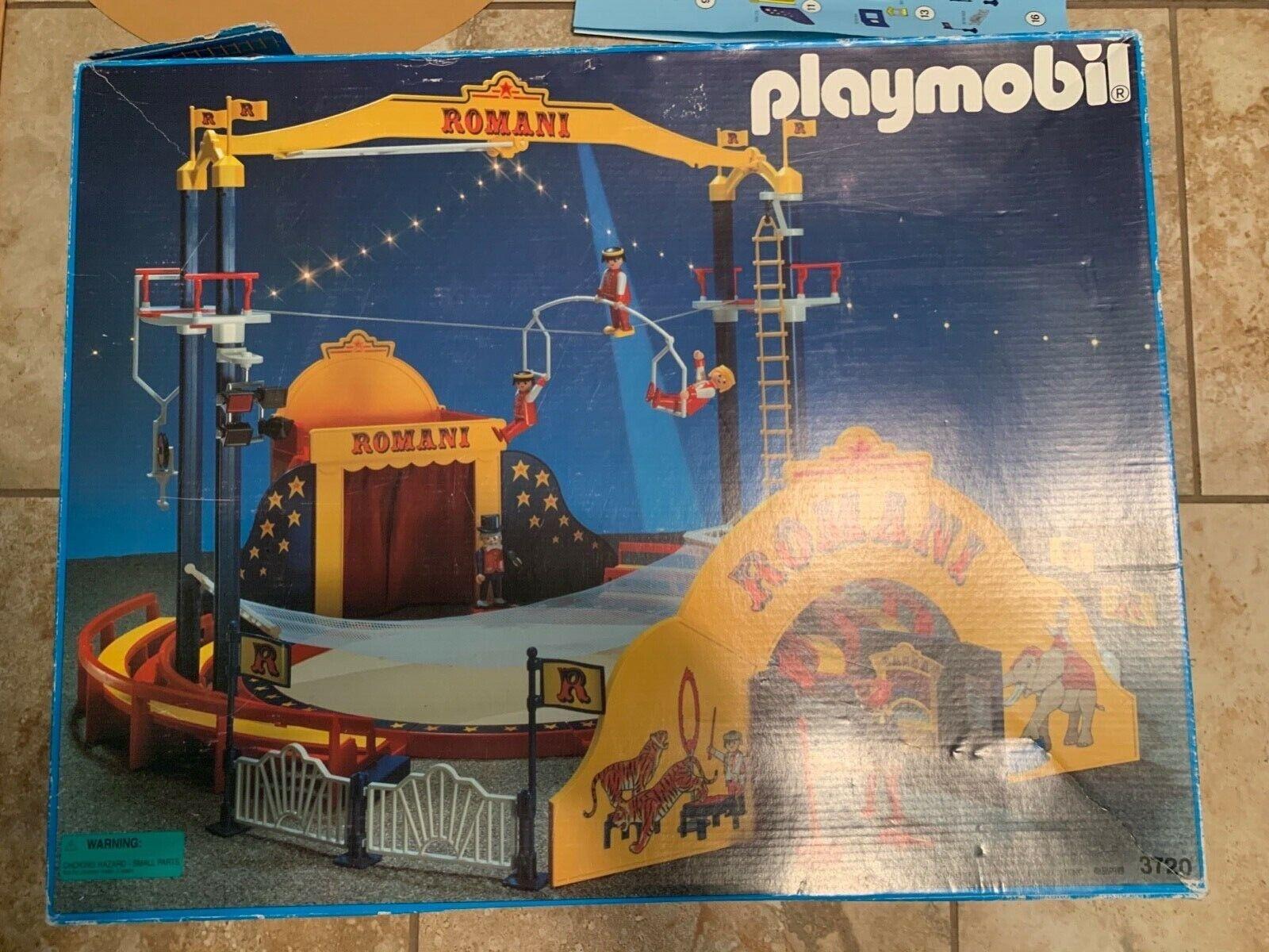 COMPLETE SET Playmobil Romani Circus 3720