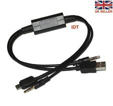 Y LIGHTNING CABLE LEAD FOR BMW / MINI IPOD / IPAD / IPHONE 5 5S 5C USB AUX