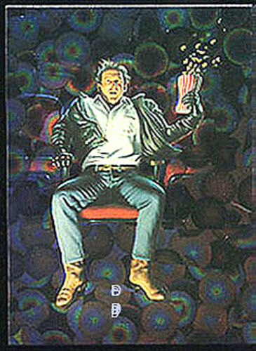 Movie Madness - Prism Chase Card P4 Series 2 JIM WARREN More Beyond Bizarre