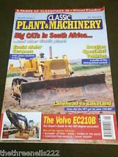 CLASSIC PLANT & MACHINERY - VOLVO EC210B - MAY 2007