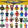 WB Warner Brothers DC Minifigures Batman Movie Mini Custom Figures fits lego