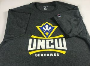 UNCW-Seahawks-T-Shirt-Mens-L-XL-Champion-North-Carolina-Wilmington-Alumni-Grad