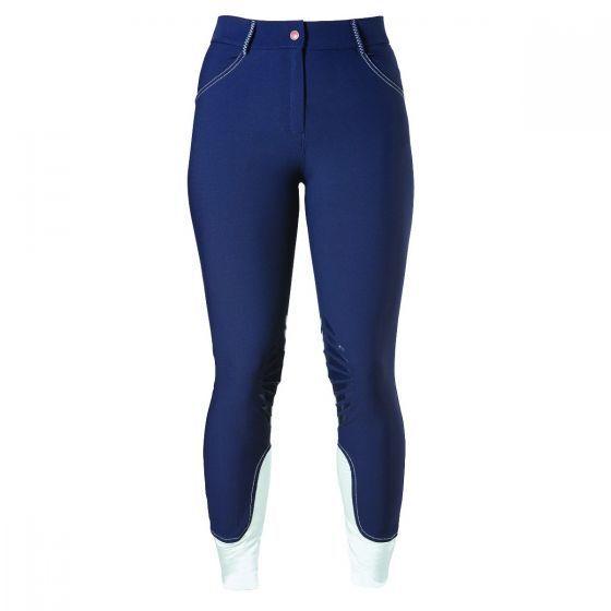 SALE Caldene Serina Silicone Knee Womens Breeches - Navy -24 26 30 RRP .00