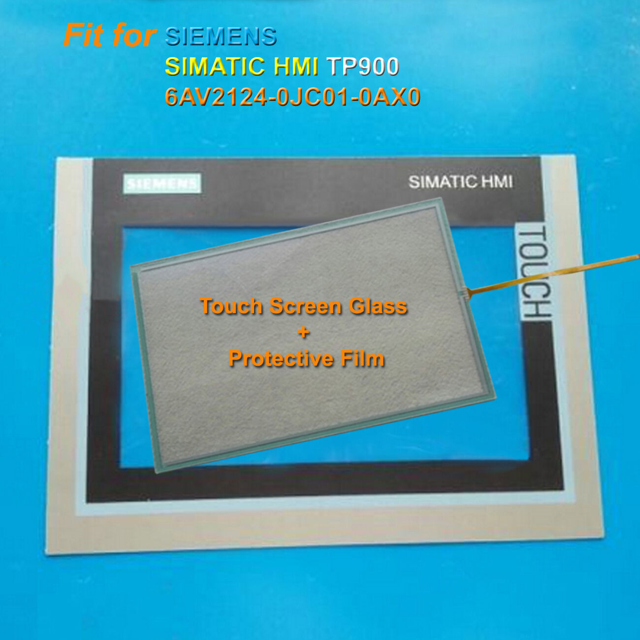 mask for Siemens SIMATIC HMI 6AV2124-0GC01-0AX0 TP700 New protective film