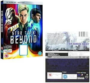 Details about STAR TREK 2016 MOVIE 13 XIII - 4K UHD Hi-Def + 2D BLU-RAY -  BEYOND - Sci-Fi NEW
