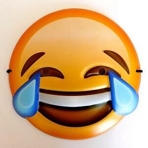 Image Is Loading CRYING LAUGHING LAUGHTER EMOJI FACE MASK KIDS ADULTS