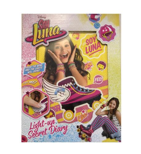 Disney Soy Luna Lights Up Tagebuch mit Lichter Neu