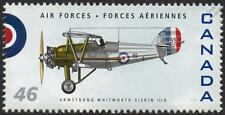 RCAF ARMSTRONG WHITWORTH SISKIN IIIA Aircraft Stamp