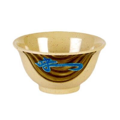 1 dozen Details about  /Thunder Group 3008TW Imperial White Melamine Rice Bowl 6 oz