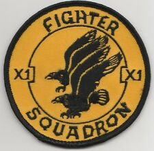 RAF 11 SQN ROUND – (OLD STYLE) Military Embroidered Patch