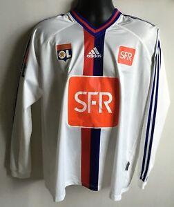 RARE-Maillot-034-CLMALITE-034-de-GOVOU-Coupe-de-France-11-avril-2006-OL-OM-LYON