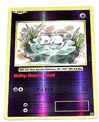 Mew  Lv.8   40 HP 2016 Collectible Pokemon Trading Card  No.53/108