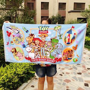 Disney-Toy-Story-WOODY-Beach-Towel-Bath-Towel-100-Cotton-60cm-120cm-KIDS-Adult