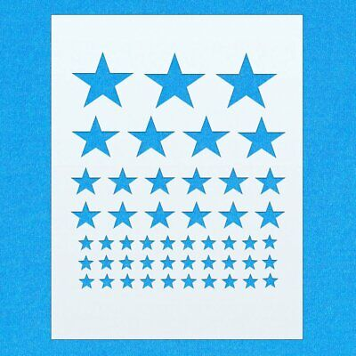 Star Star Shape Mylar Airbrush Painting Wall Art Stencil eight