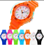 miniature 1 - Children Kids Watches For Boys Girls Colour Analogue Sports Watch with Numbers