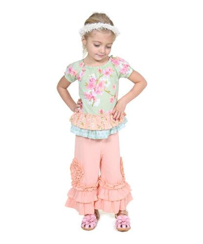 Toddler Girls Size:5,6 RRP:$69 Peach Sweet Heart Tascha Tunic /& Pants
