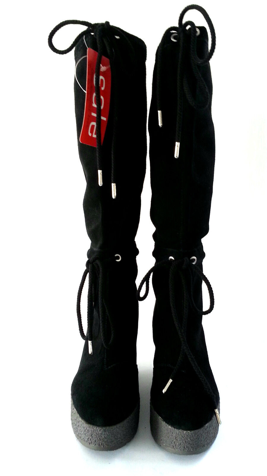 ROCKPORT - CEDRA SCRUNCHED - TALL BOOT - BLACK - SCRUNCHED SIZE 6 - 20,000+ FEEDBACK  SH108 5a9578