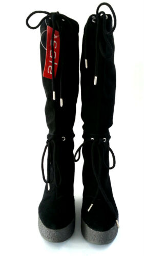 SIZE 5-20,000+ FEEDBACK BLACK SH103 ROCKPORT CEDRA SCRUNCHED TALL BOOT