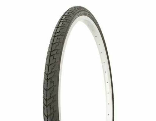 """Pair Duro 24/"""" x 1 3//8/"""" Black//Black Side Wall wheelchair Tires /& 2 tubes"""